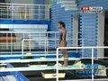 视频:女子三米板决赛 印尼选手第四跳展开晚