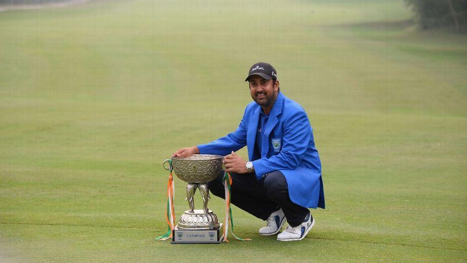 前高尔夫亚运冠军印度本土登顶 女儿成取胜法宝