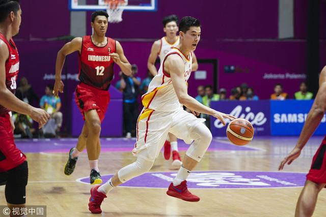 亚运男篮大胜印尼挺进半决赛