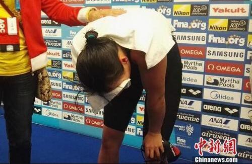 傅园慧:死也死在泳池 不想让看我哭的人更难受
