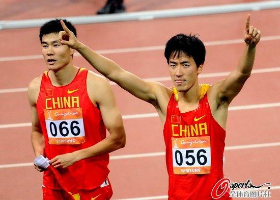 中国110米栏亚运10届夺9冠 刘翔参赛必破纪录