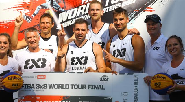 FIBA3X3大师赛首站卫冕冠军问鼎 将直通北京