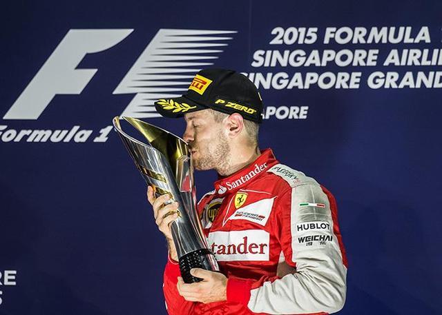 F1新加坡站赔率:维特尔力压汉密尔顿居榜首