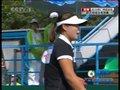 视频:软式网球单打决赛 韩国选手先拿下一局