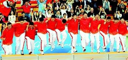 中国先发五虎得分均上双 男篮第七次问鼎亚运