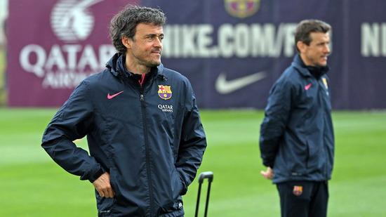 Enrique: Messi can affect the team debut satisfactory progress