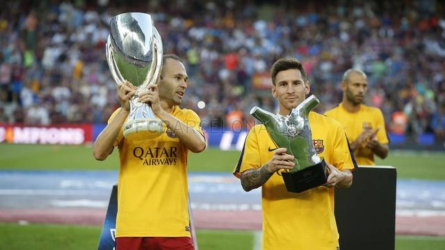 European Super Cup to show the fans and European best player trophy
