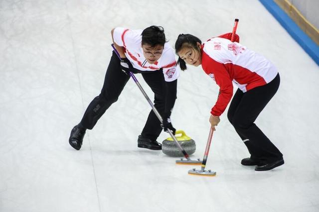 混合冰壶世锦赛中国遭遇首败 4胜1负小组第二