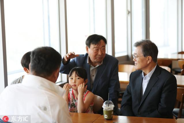 太敬业!韩国总统休假也不忘宣传平昌冬奥会