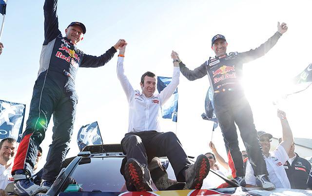 中国车手登上达喀尔颁奖台 关注度创历史新高