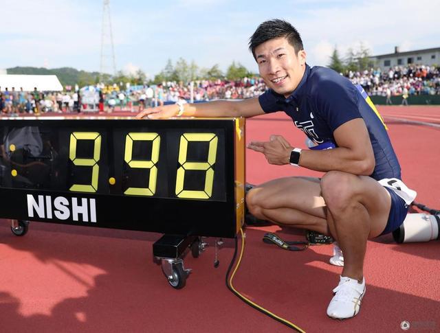 日本短跑名将百米破10超苏炳添 成绩待田联确认