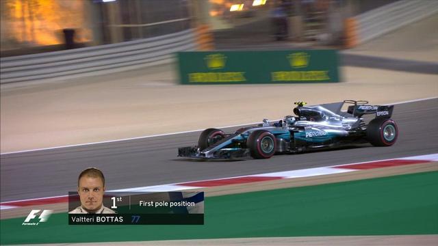 博塔斯获杆位感谢车队支持 小汉点出失利原因