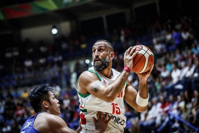 2017男篮亚洲杯四分之一决赛资格赛:黎巴嫩90-77中国台北 晋级8强