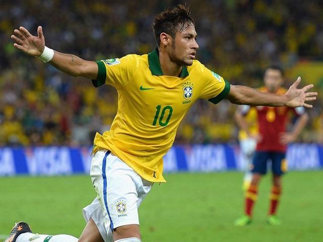 全场集锦:内马尔爆射皮克染红 巴西3-0西班牙捧杯截图