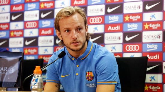 Rakitic: looking forward to the achievements of six-time winner will prove his strength