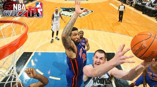 NBA巅峰战之森林狼 开挂男31+31+5斩杀纽约