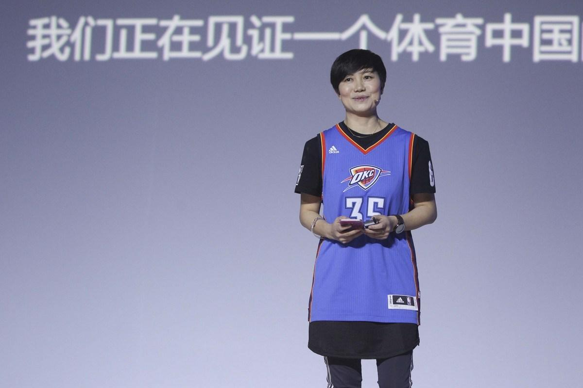 陈菊红:与腾讯一起赢得比赛 共建NBA家园截图