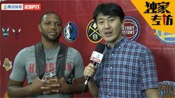 专访戈登:和中国男篮交手有趣 周琦会越来越强