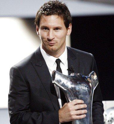 梅西当选首届欧洲足球先生 足坛之王再度加冕