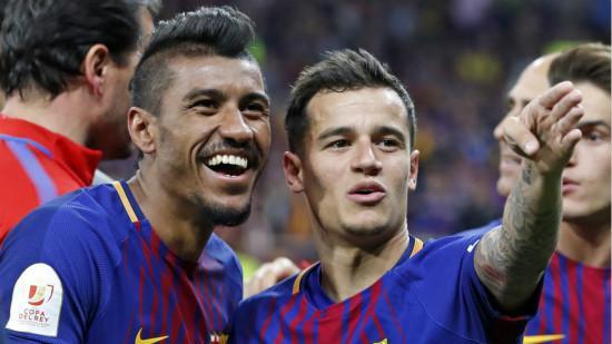 保利尼奥和库蒂尼奥入选巴西队23人名单