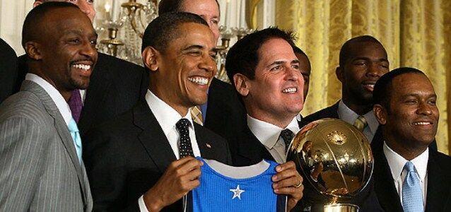 奥巴马要买NBA球队?库班:3亿美金我卖10%