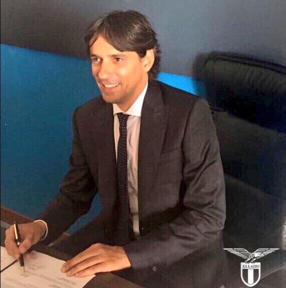 拉齐奥宣布续约小因扎吉至2020年 年薪100万