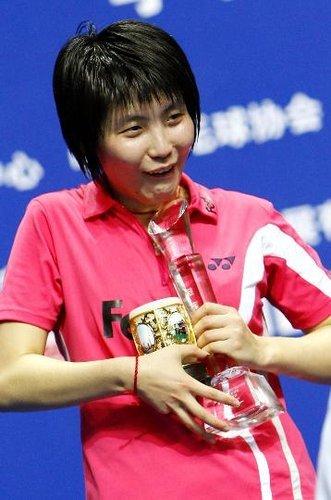 羽毛球名将之中国女子运动员蒋燕皎
