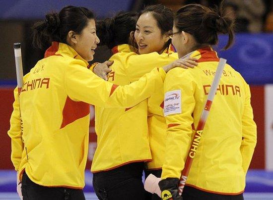 冰壶世锦赛王冰玉加赛绝杀 中国10-9丹麦夺铜