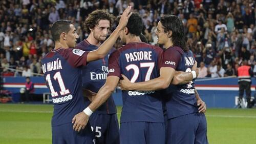 法甲-巴黎3-0圣埃蒂安4连胜 卡瓦尼梅开二度