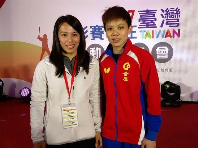 台北乒乓女将冲进世界前五 豪言2017目标赢国乒主力