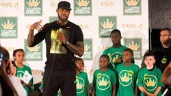 詹姆斯开办慈善学校 旨在救助阿克伦失学儿童