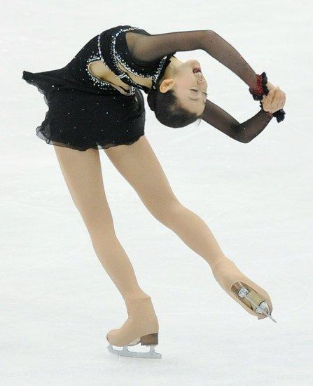 花滑日本站女单短节目 浅田真央失误仅排第八