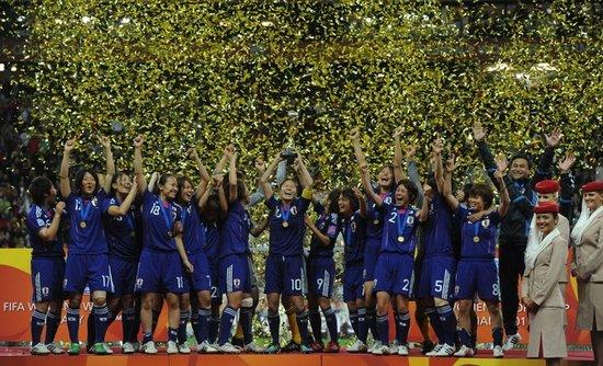 日本女足谱法兰克福奇迹 核心:给予人们力量