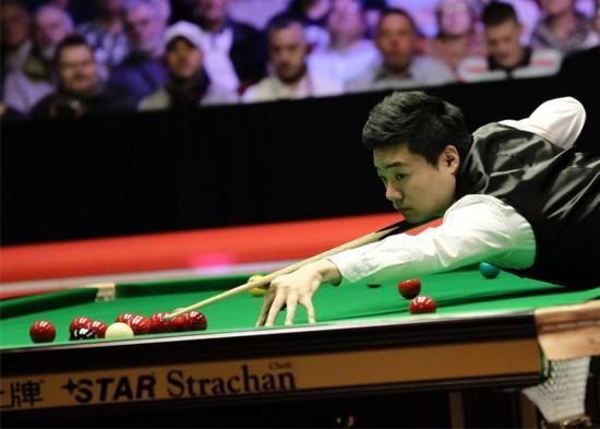 斯诺克锦标赛首日中国选手一轮游 小丁9日首秀