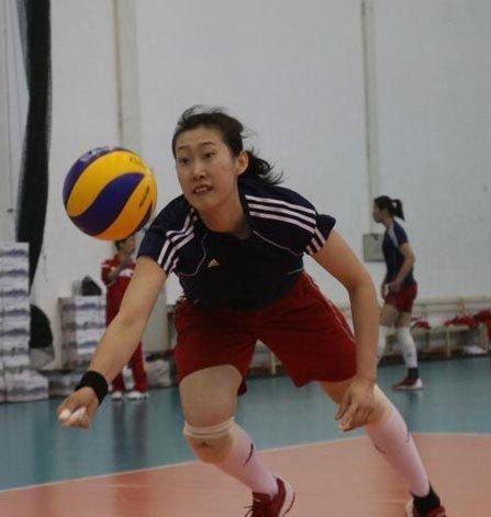 中国女排运动员杨婕
