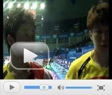 视频:于洋王晓理拒穿裙装 争取决赛场上拿分