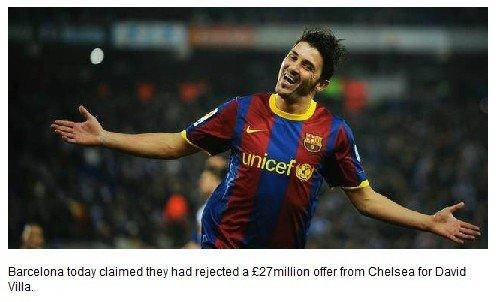 切尔西购巴萨锋将被索1.78亿 魔兽成小辈添头
