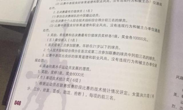 福尔斯夺MVP酿乌龙?篮协本规定唯本土可当选