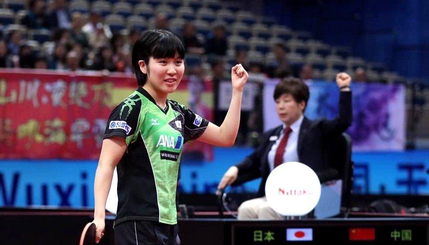 17岁日乒小将:中国女乒很普通 目标打倒所有人