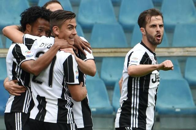 意甲-尤文1-0桑普多利亚 魔翼建功迪巴拉伤退