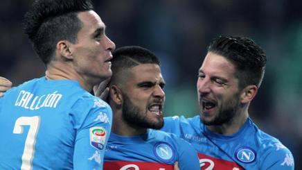 意甲综述-那不勒斯2-1乌迪内斯 切沃6轮首胜
