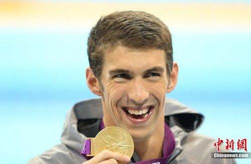 菲尔普斯结束比赛将退役 游泳让他不用终身服药