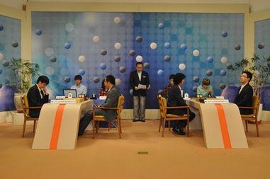 世界围棋大师赛战罢 90后中国小将晋级四强图片