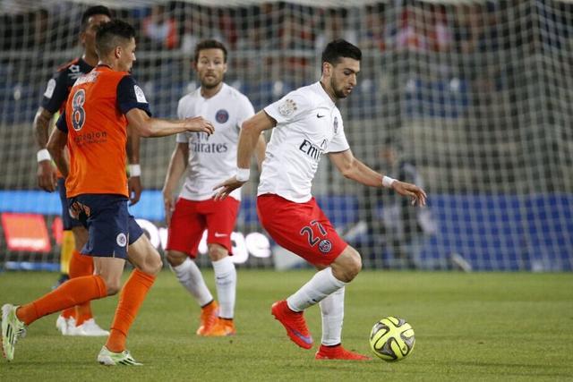 法甲-巴黎2-1蒙彼利埃 提前1轮获法甲三连冠