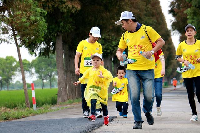 上海城市业余联赛 首度举行田园亲子主题路跑