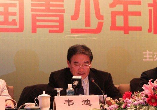 韦迪:校园足球初具规模 开创中国体育新模式