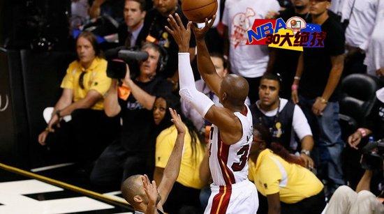 NBA30大绝技之三分:阿伦出手速度成就纪录