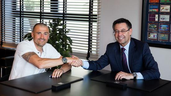 Barcelona announced the renewal Enrique