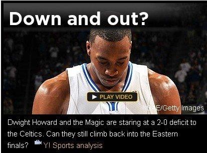 Yahoo:霍华德独木难支 历史已宣告魔术出局