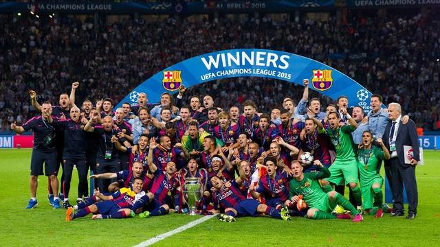 Barcelona and win the Champions League victory over Juventus (3-1)